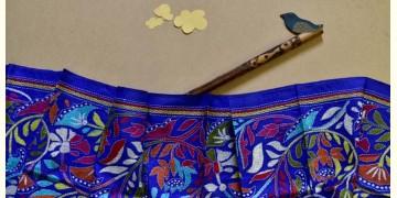 Swara . स्वरा ✽ Kantha Banglore Silk Stole ✽ 17