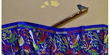 Swara . स्वरा ✽ Kantha Banglore Silk Stole ✽ 27