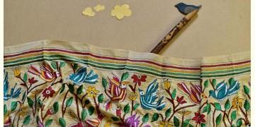 Swara . स्वरा ✽ Kantha Tassar Silk Stole ✽ 20