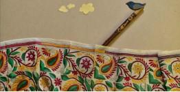 Swara . स्वरा ✽ Kantha Tassar Silk Stole ✽ 21