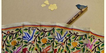 Swara . स्वरा ✽ Kantha Tassar Silk Stole ✽ 22