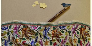 Swara . स्वरा ✽ Kantha Tassar Silk Stole ✽ 23