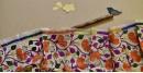 Kantha Tassar Silk Stole 24