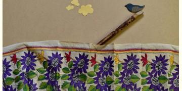 Swara . स्वरा ✽ Kantha Tassar Silk Stole ✽ 25