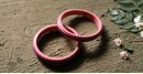 धरा ✽ Lakh bangles { Set of Two } A