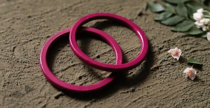 धरा ✽ Lakh bangles { Set of Two } C