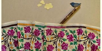 Swara . स्वरा ✽ Kantha Tassar Silk Stole ✽ 26
