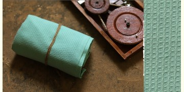 Swavalamban ◉ Handwoven ◉ Cotton Towel ◉ 6 { Sea Green }