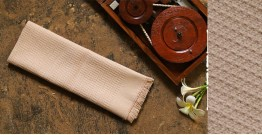 Swavalamban ◉ Handwoven ◉ Cotton Napkins ◉ 3 { cream }