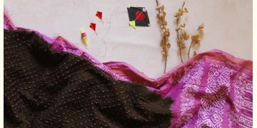 पौष ❈ Batic Bandhani  ❈ Cotton Saree ❈ 15