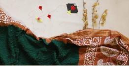 पौष ❈ Batic Bandhani  ❈ Cotton Saree ❈ 3