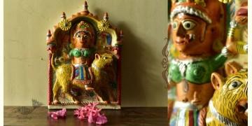 Molela ❉ Terracotta Plaques ❉ Ambika Goddess Devi