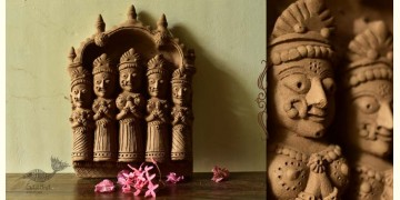 Molela ❉ Terracotta Plaques ❉ Authentic Indian Home Decor Gifts