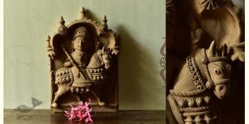 Molela ❉ Terracotta Plaques ❉ Bhathiji Maharaj Idol