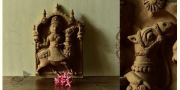 Molela ❉ Terracotta Plaques ❉ Dashama Goddess