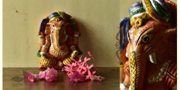 Molela ❉ Terracotta Plaques ❉ Ganesh