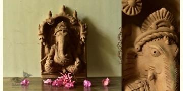 Molela ❉ Terracotta Plaques ❉ Ganesha
