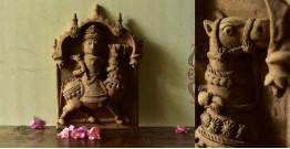 Molela ❉ Terracotta Plaques ❉ God Dev Tiles