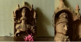 Molela ❉ Terracotta Plaques ❉ Goddess clay idol 1