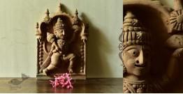 Molela ❉ Terracotta Plaques ❉ Hanuman