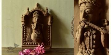 Molela ❉ Terracotta Plaques ❉ Krishna