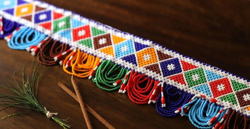 शुभ लाभ ⁂ Glass Bead ⁂ Temple Toran ⁂ 9A