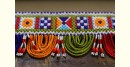 colorful design bear toran for Indian temple