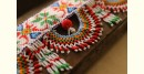 Saurashtra glass bead flower design toran for door