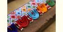 शुभ लाभ ⁂ Glass Bead ⁂ Temple Toran ⁂ 18 x 3 (S)
