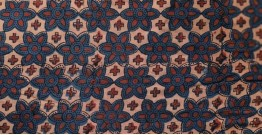 Ajrakh Cotton Fabric ❋ 1 { Per Meter }