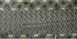Ajrakh Cotton Fabric ❋ 3 { Per Meter }