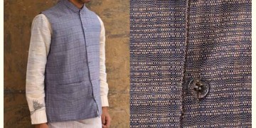 Swavalamban ◉ Handwoven ◉ Cotton Koti / Jacket - 15