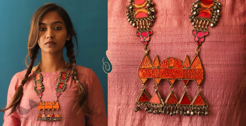 Anosha ✽ Tribal  Jewelry ✽ German Silver ✽ Necklace ✽ 12