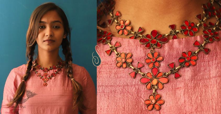 Anosha ✽ Tribal  Jewelry ✽ German Silver ✽ Necklace ✽ 30