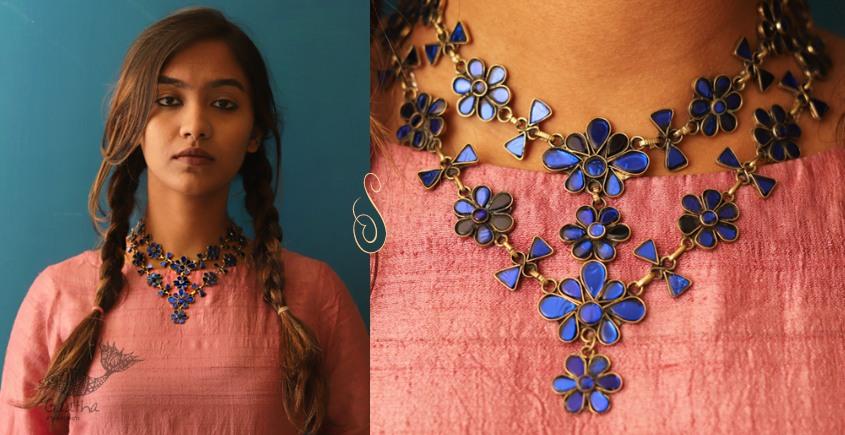 Anosha ✽ Tribal  Jewelry ✽ German Silver ✽ Necklace ✽ 31