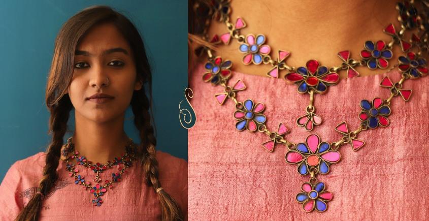 Anosha ✽ Tribal  Jewelry ✽ German Silver ✽ Necklace ✽ 29