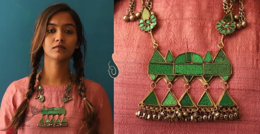 Anosha ✽ Tribal  Jewelry ✽ German Silver ✽ Necklace ✽ 11