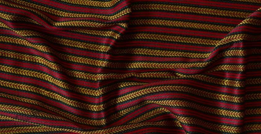 Mashru ✧ Silk+cotton Fabric ( Per meter ) ✧ 21