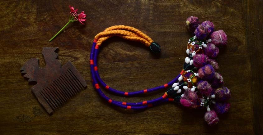 shop exclusive handmade with cotton thread  Kutchi Latkan 12