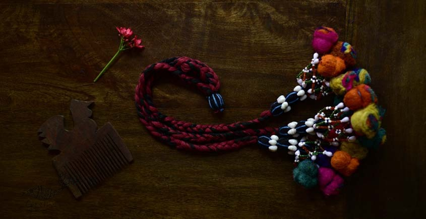 shop exclusive handmade with cotton thread  Kutchi Latkan 10