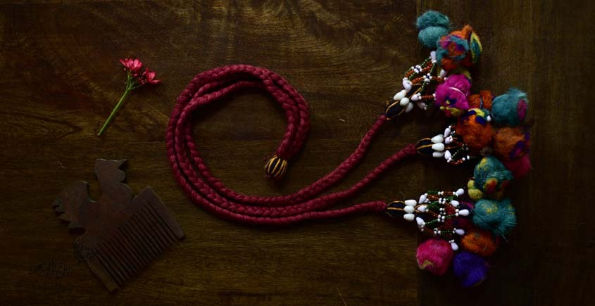 shop exclusive handmade with cotton thread  Kutchi Latkan 11