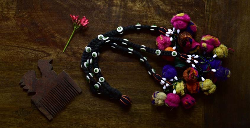 shop exclusive handmade with cotton thread  Kutchi Latkan 2