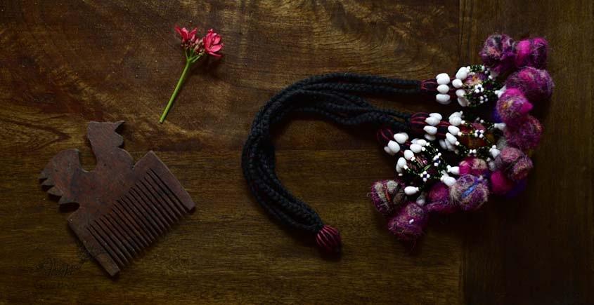 shop exclusive handmade with cotton thread  Kutchi Latkan 3