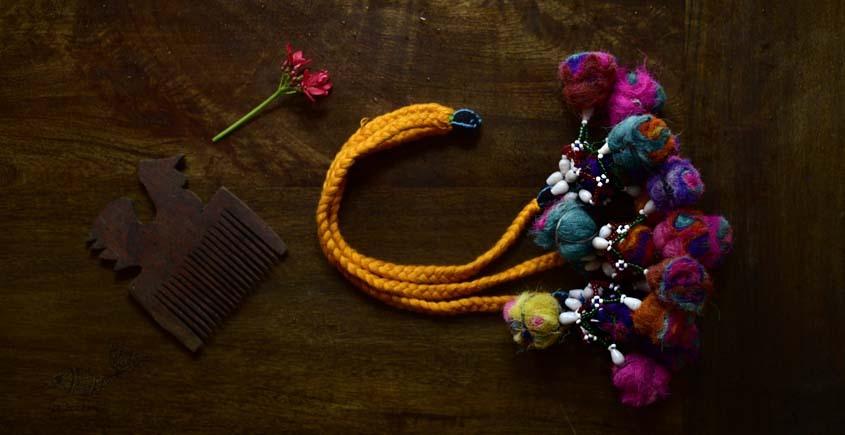 shop exclusive handmade with cotton thread  Kutchi Latkan 4