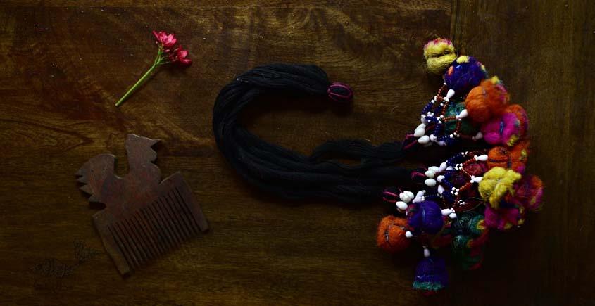 shop exclusive handmade with cotton thread  Kutchi Latkan 5