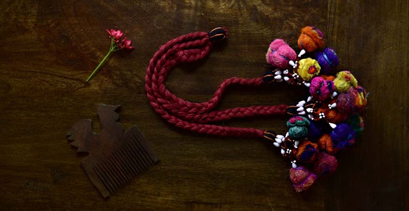 shop exclusive handmade with cotton thread  Kutchi Latkan 6
