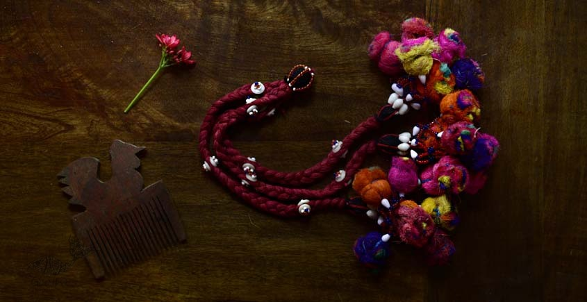 shop exclusive handmade with cotton thread  Kutchi Latkan 7