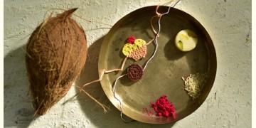 Crocheted Celebrations ❁ Handmade Crochet KidsRakhi - Cup Cake & Oreo Biscuit (Set of Two) ❁ B