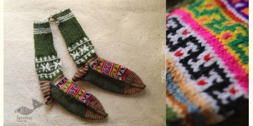 Igloo ☃ Wool Foot Warmers / Socks ☃ 7