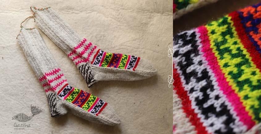 Igloo ☃ Wool Foot Warmers / Socks ☃ 8
